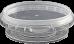 Amber Plastics 200ml tub