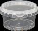 Amber Plastics 210ml tub