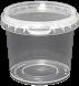 Amber Plastics 365ml tub