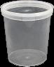Amber Plastics 500ml tub